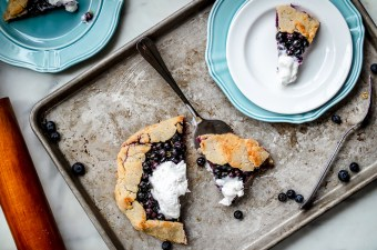 Like Pie, But Better: Lemon Blueberry Galette