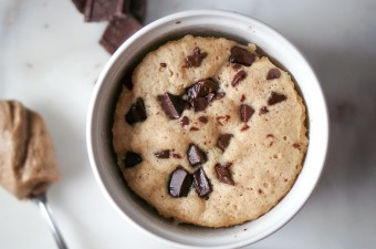 You Just Got Served: Single Serving Chocolate Chip Cookie