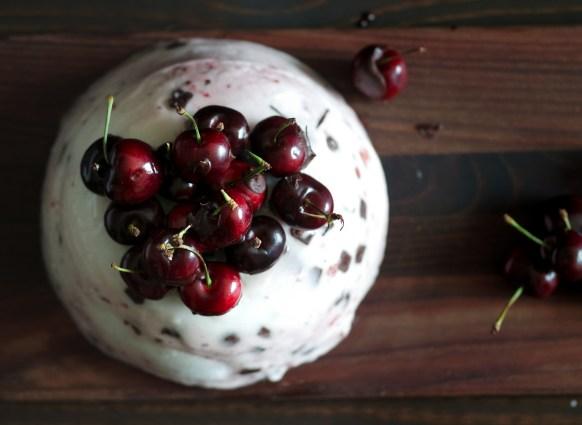 Cherry Chocolate Ice Cream Cake -4030