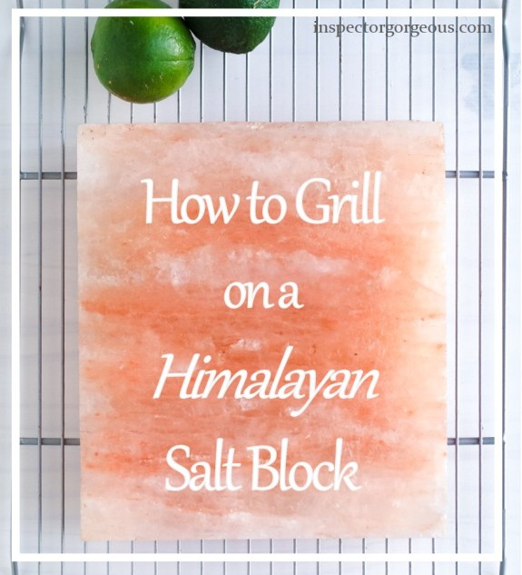 How To Grill On A Salt Block