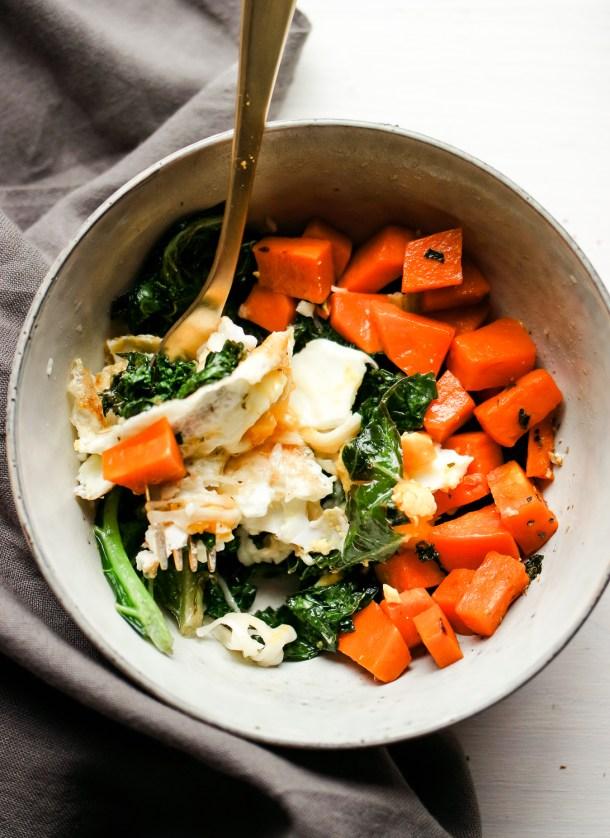 Lemony Kale Winter Detox Bowl
