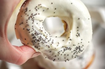 Baked Lemon Poppy Seed Donuts that FEEL Fried {Gluten Free & Low Carb}