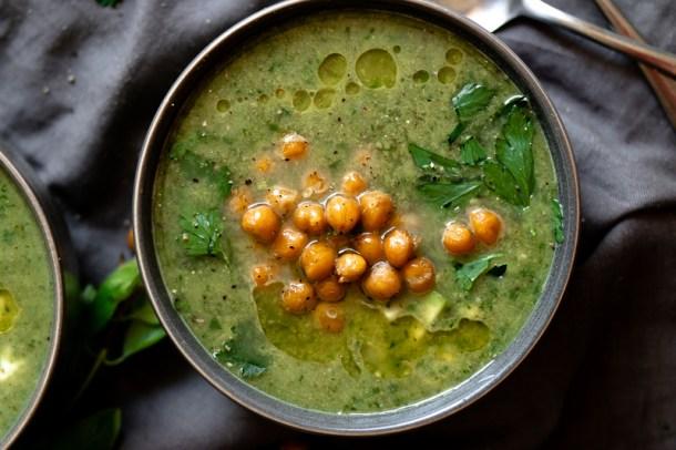 Green Goddess Herb Soup