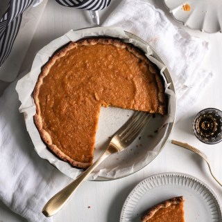 Bourbron Butternut Squash Pie