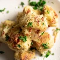 Highly Addictive 🚨 Parmesan Roasted Cauliflower {Low Carb & GF}