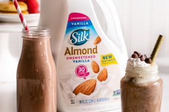 Dairy-Free Breakfast Trio with Silk Almondmilk! {Gluten Free}
