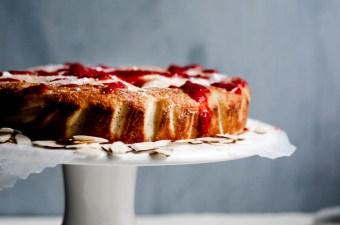 Raspberry Almond Ricotta Cake {Gluten Free & Keto}