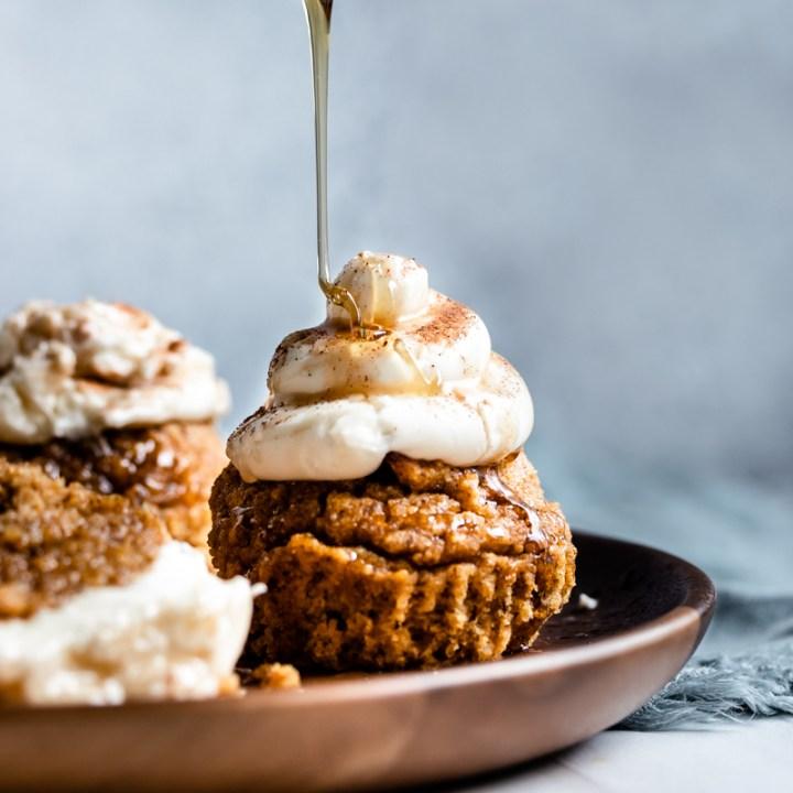 Super Moist Keto Pumpkin Spice Muffins!