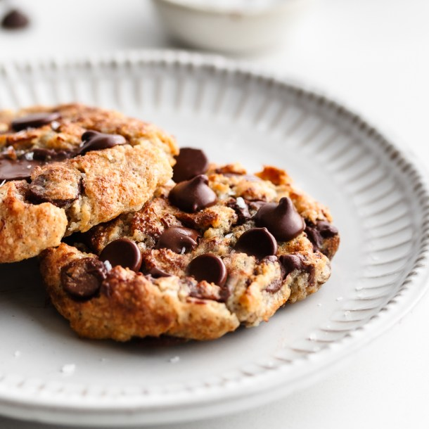 Keto Single Serve Air Fryer Chocolate Chip Cookie!