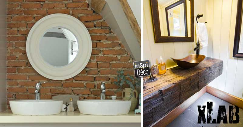 salle de bain rustique voici 20 idees inspirantes