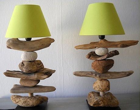 decorazioni fai da te con legno di mare 13