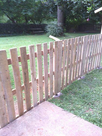 construire une cloture en bois de