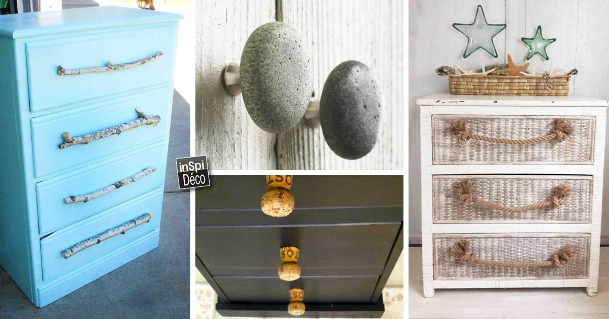 diy customiser ses poignees de meuble 20 idees inspirantes