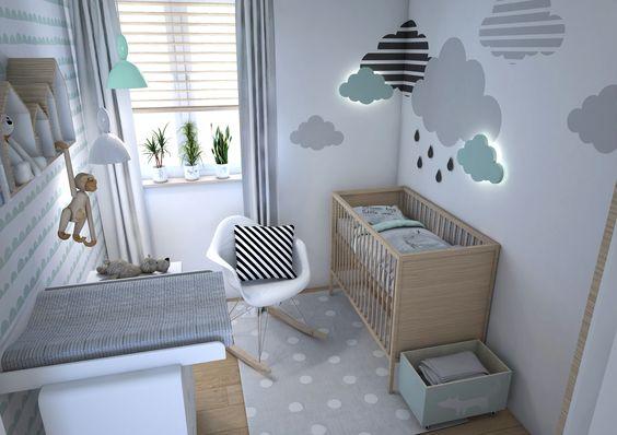 chambre bebe nuages 15 idees deco pour