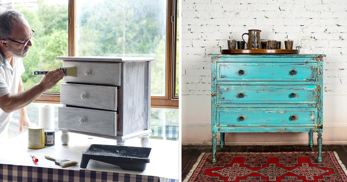15 idees diy pour repeindre ses meubles