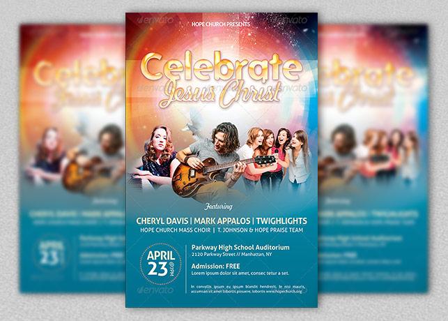 concert flyer templates