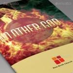No Other God Church Bulletin Template