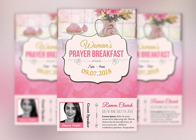 Breakfast Flyer Template Choice Image Template Design Free Download