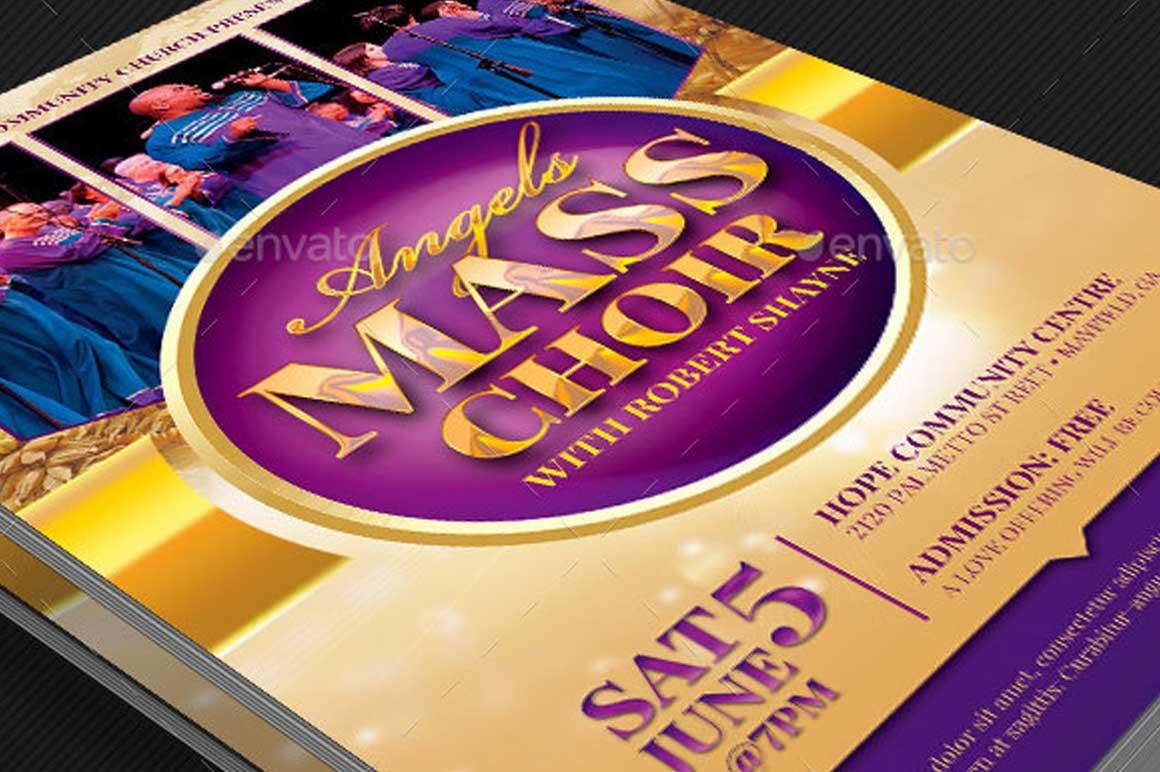 Mass Choir Concert Poster Template Inspiks Market