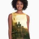 Strong Tower Sleeveless Top by Godserv Designs