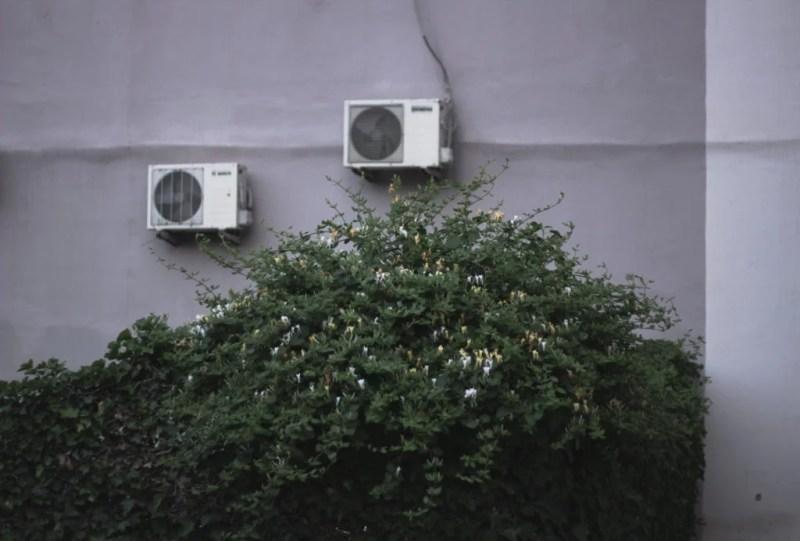 klimatizace, dům