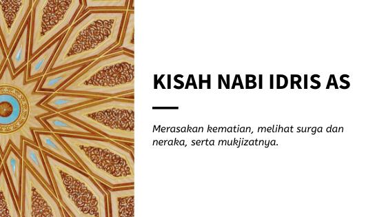 Kisah Nabi Idris