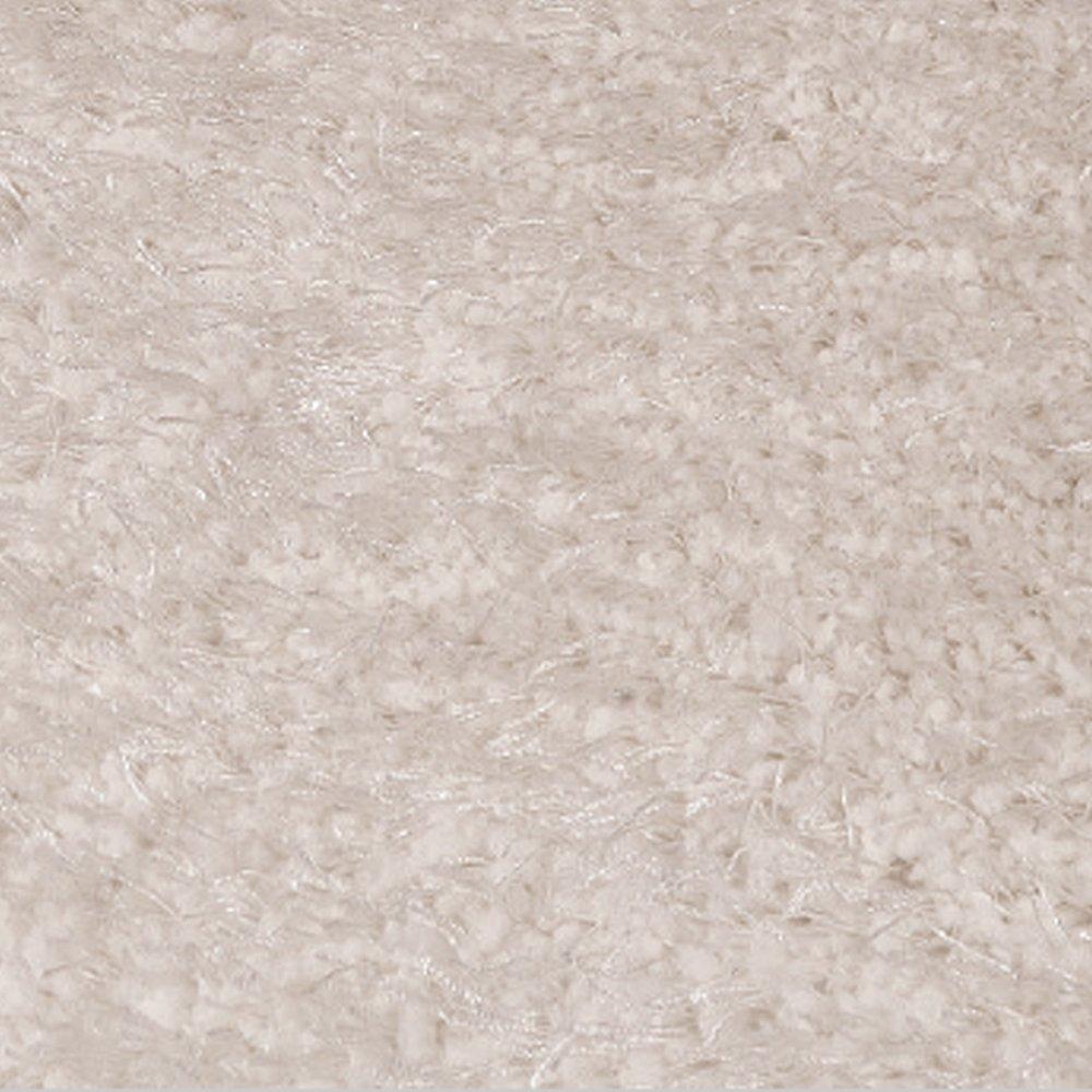 tapis design haut de gamme a poils longs shaggy blanc