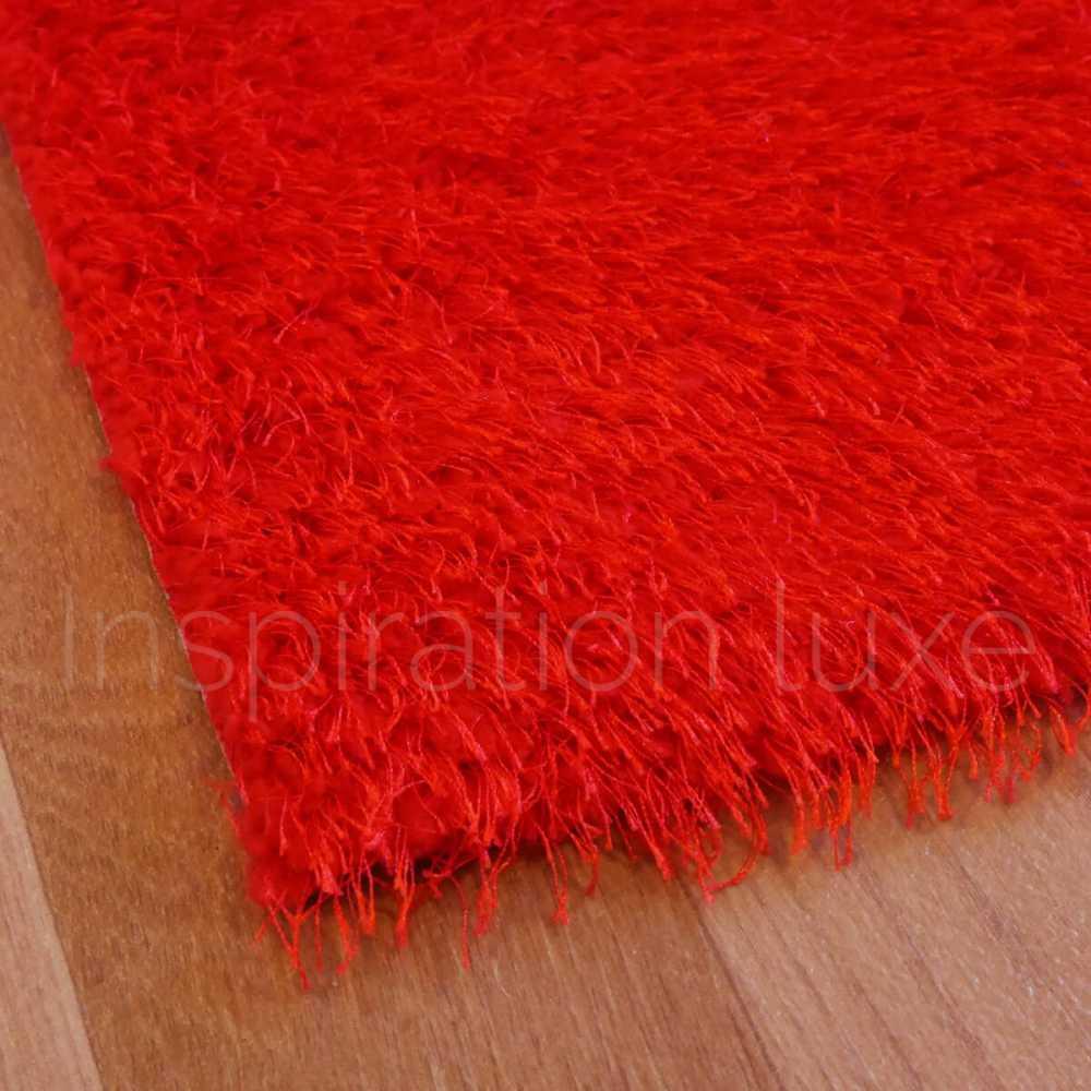 tapis de cuisine sur mesure rouge