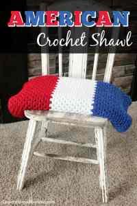 American Crochet Shawl