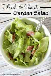 Fresh & Sweet Garden Salad