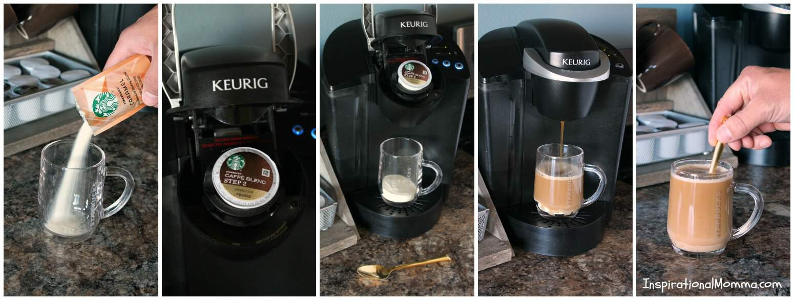 Make your own DIY Mug Rack with K-Cup® Storage! A beautiful addition to your kitchen that serves a great purpose for all of us coffee lovers!