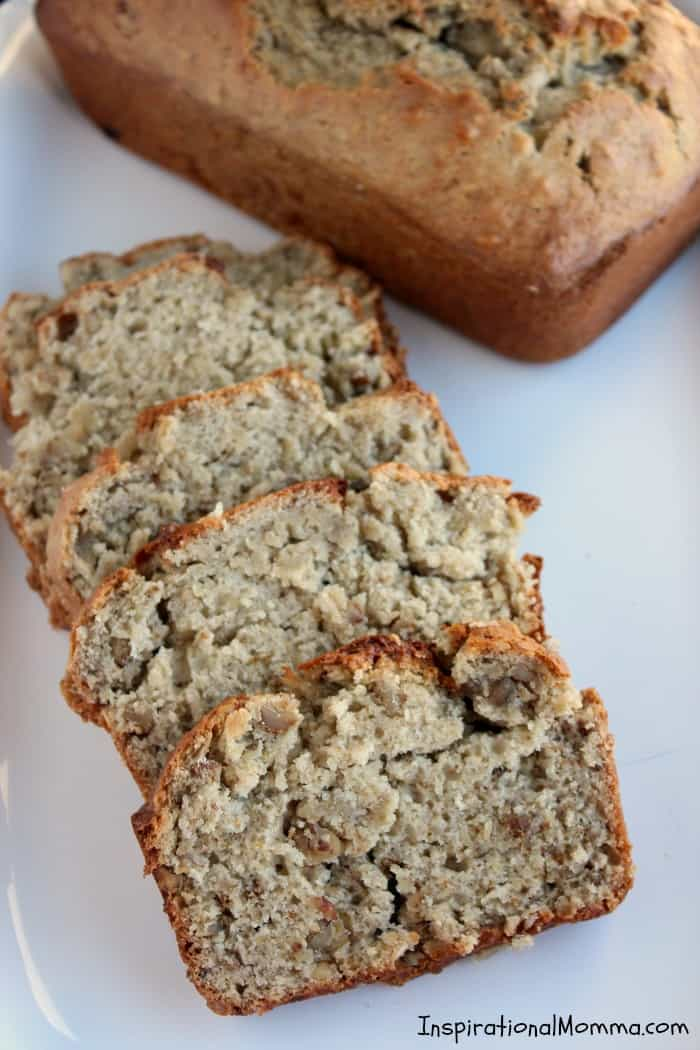 This Homemade Banana Bread is sweet, moist, and absolutely delicious! You must try this simple recipe that will quickly become one of your favorites!