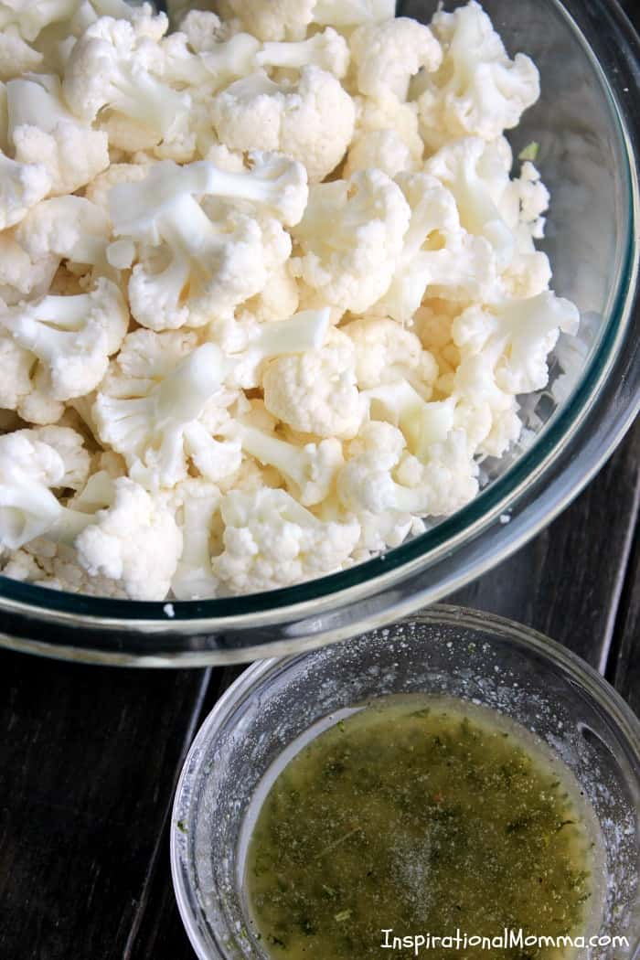 Roasted Parmesan Cauliflower - Roasted and seasoned to perfection, you will fall in love with the natural flavors of this healthy and nutritious side dish!