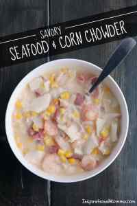 Savory Seafood & Corn Chowder
