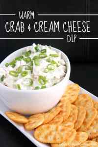 Warm Crab & Cream Cheese Dip