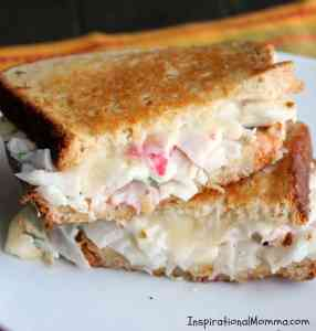 Creamy Crab Grilled Cheese