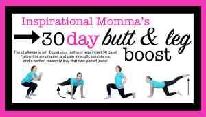 30-Day Butt & Leg Boost Challenge