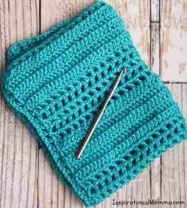 Hugs & Kisses Crochet Baby Blanket