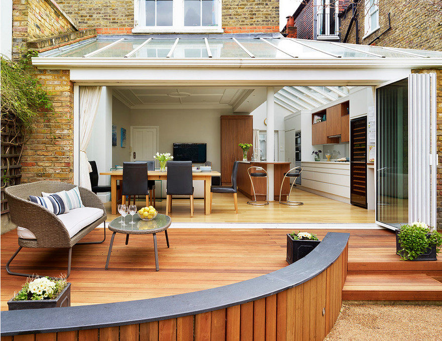 Awesome Outdoor Deck Plans and Layouts   DIY Motive on Garden Patio Designs And Layouts id=37984