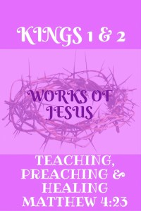 works of jesus