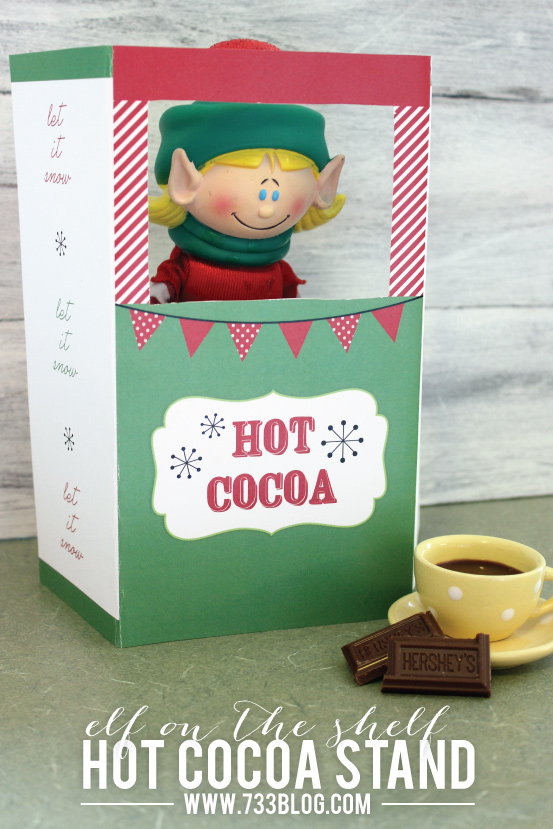 Shelf Elf Hot Cocoa Stand Inspiration Made Simple