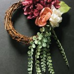 Simple Floral Grapevine Wreath Tutorial Inspiration Made Simple