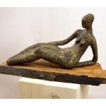 Abstrakte Skulptur Kaufen Liegende Pappmache Galerie Inspire Art