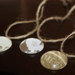 Crystal Gem Necklaces with Twine