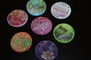 sparkle magnets finished