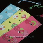 Pastel Bookmarks with Inserts, VInyl Sleeves, and Tassels
