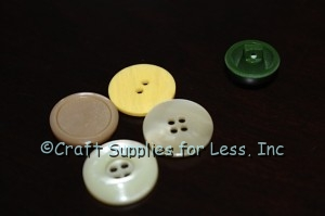buttons used to make flower