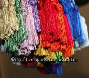 Bookmark Tassels all colors