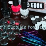 Gem Paperclip Bookmark Supplies Needed