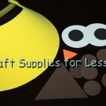 Owl Visor Supplies Needed